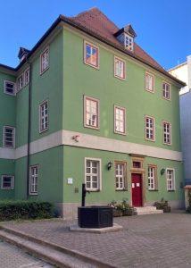 Green house in Jena, Germany